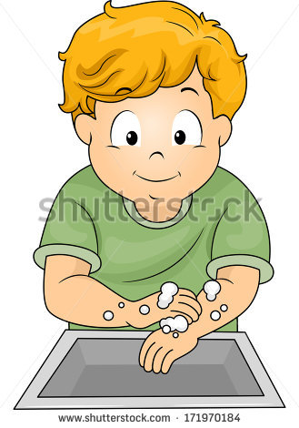 Washing Hands Cartoon Stock Photos, Royalty.
