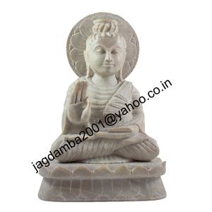 Buddha Ji Statue Of Soapstone.