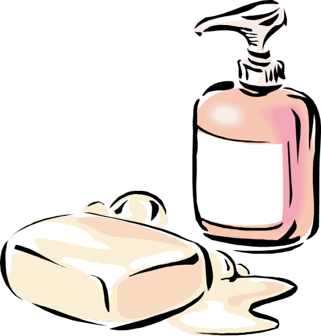Soapy Clipart.