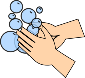 309 Hand Washing free clipart.