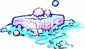 Soap And Water Clipart.