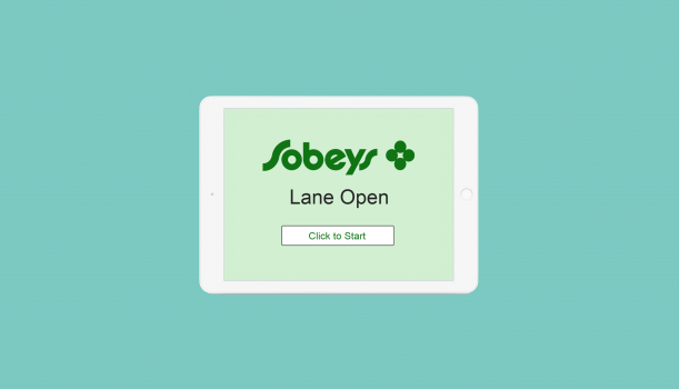 Sobey\'s Grocery Store Self Checkout.