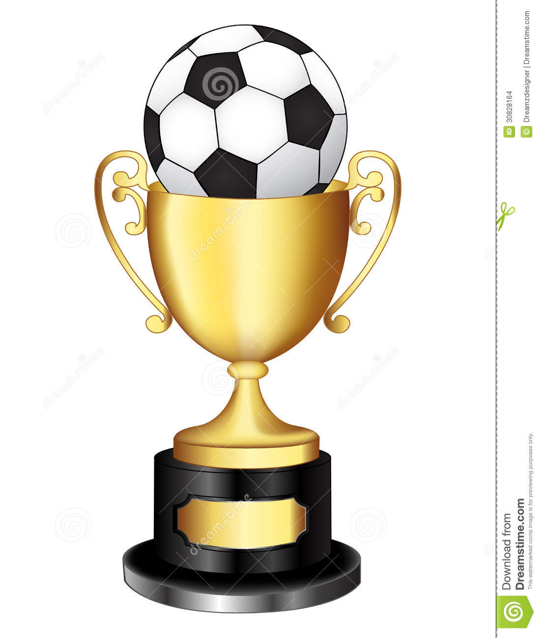 Soccer Medals Clipart.