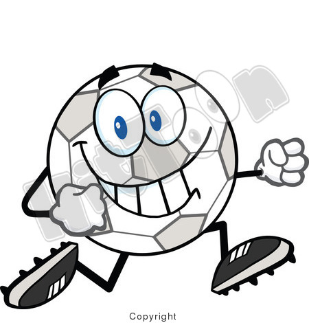 Soccer Cleats Clipart.