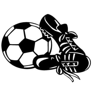 Soccer Cleats Clipart 2276.