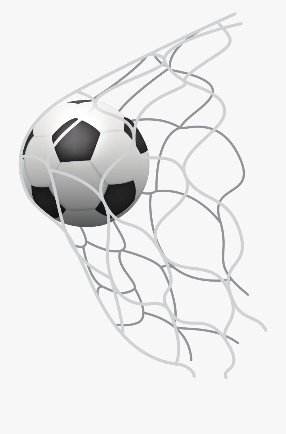 Soccer Net Clipart.