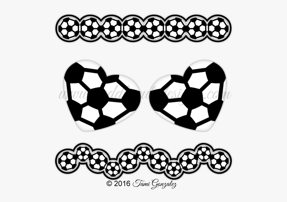 Soccer Borders Clip Art Sports Music Clipart.