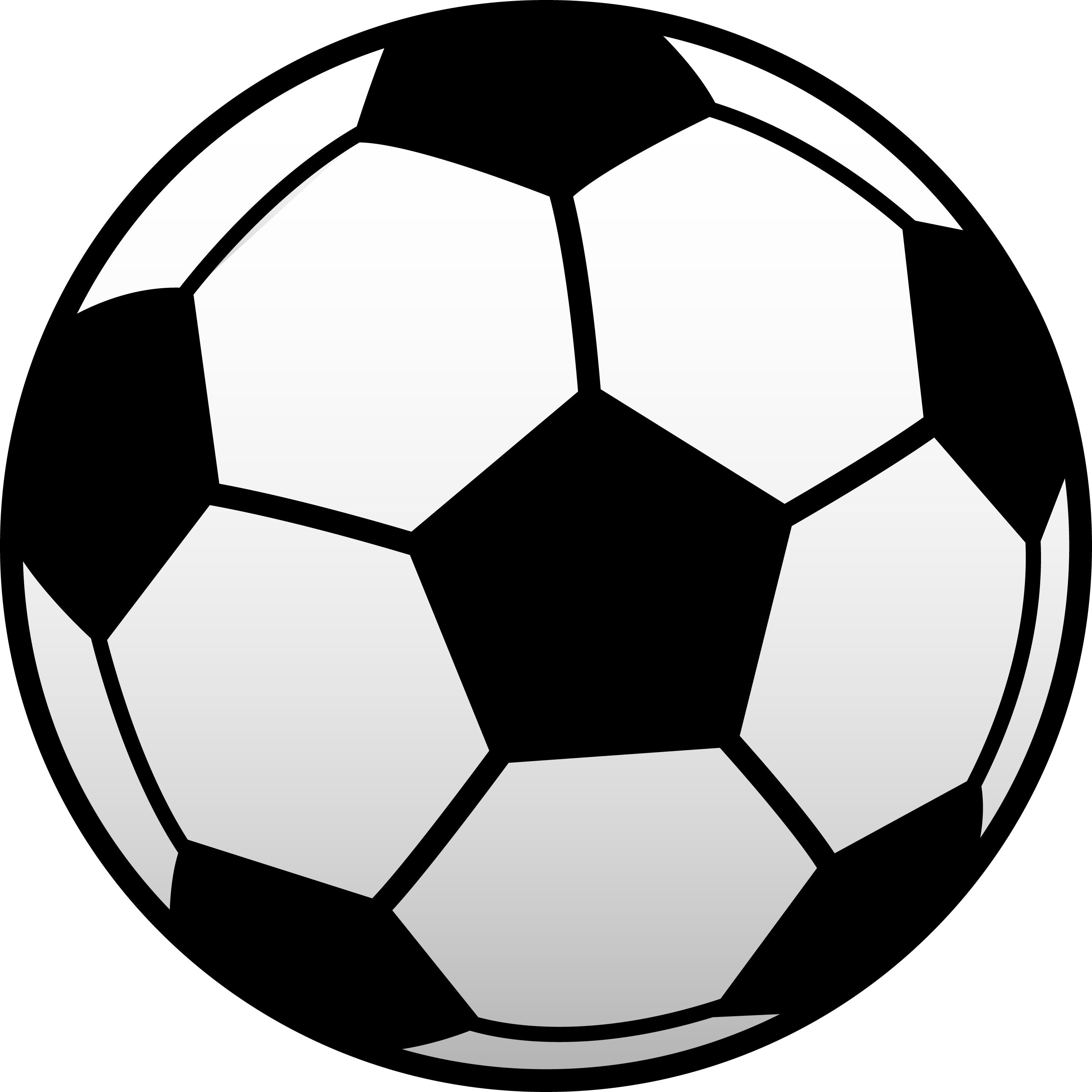 Soccer ball clipart free images 2.