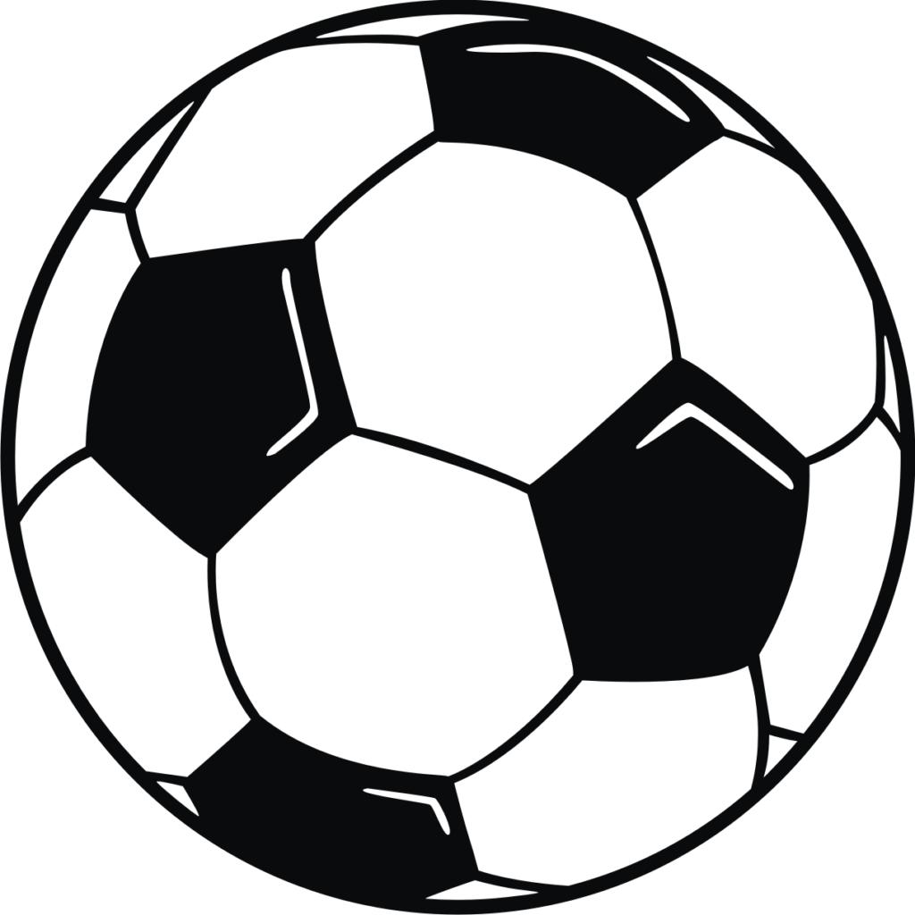 Vector soccer ball clip art clipart.