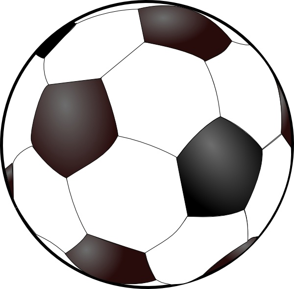 Soccer Ball clip art Free vector in Open office drawing svg ( .svg.