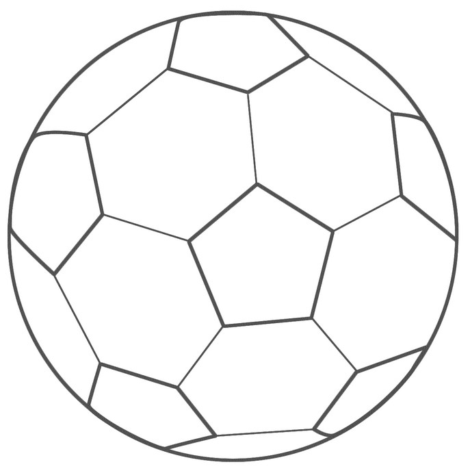 Soccer ball clip art black and white free 2.