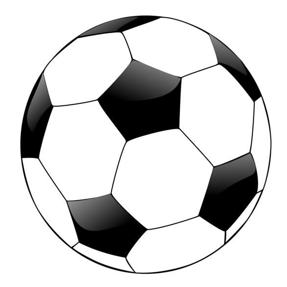 Soccer ball clipart free clipart images 3.