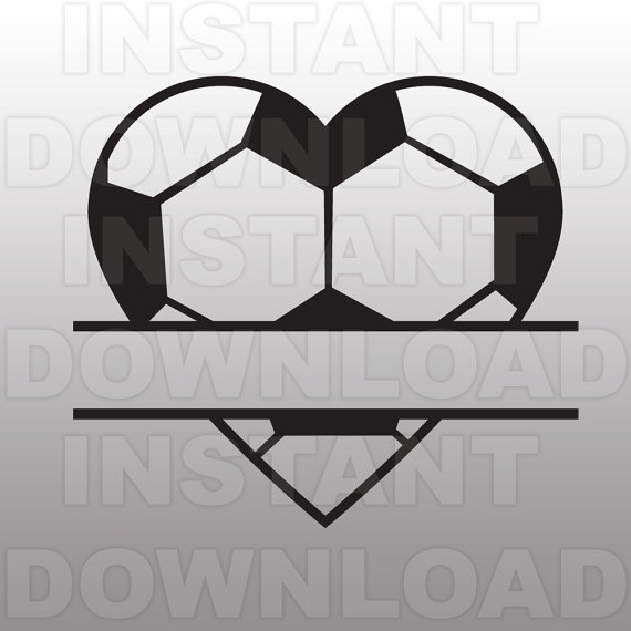 Soccer Ball Heart Clip Art Pictures to Pin on Pinterest.