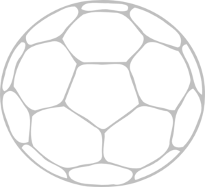 Soccer Ball Outline Clip Art at Clker.com.