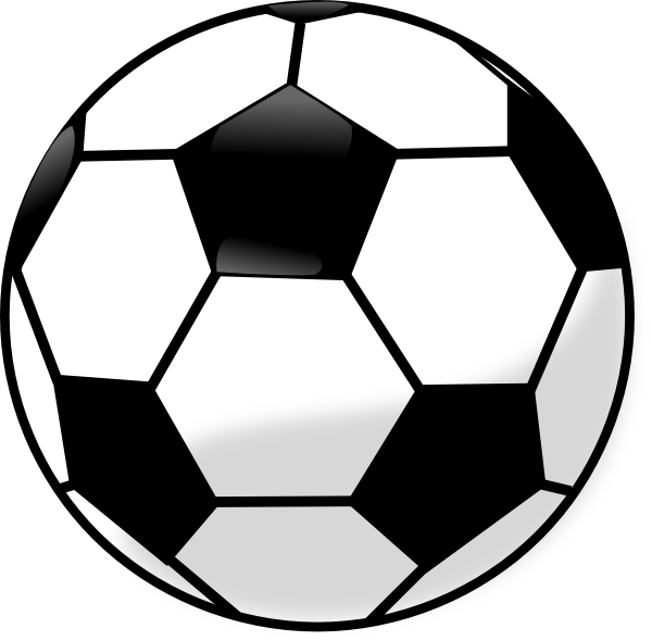 Soccer Ball Vector Clip Art at Clker.com.