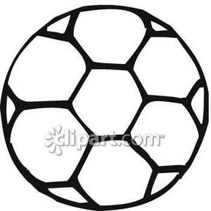 Soccer Clipart Black And White.