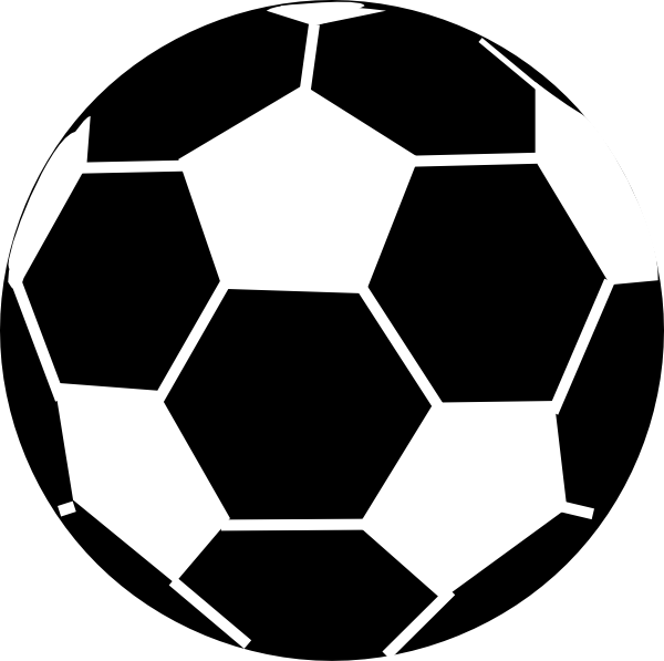 Soccer Goal Clipart Black And White.