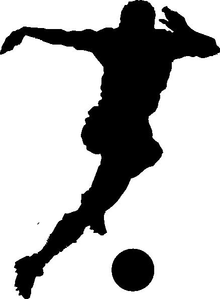 Soccer Goalie Clipart Black And White.