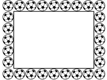Soccer Border.