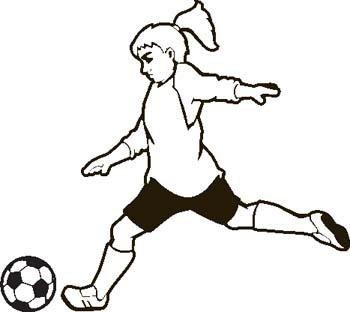 Soccer clipart 3.
