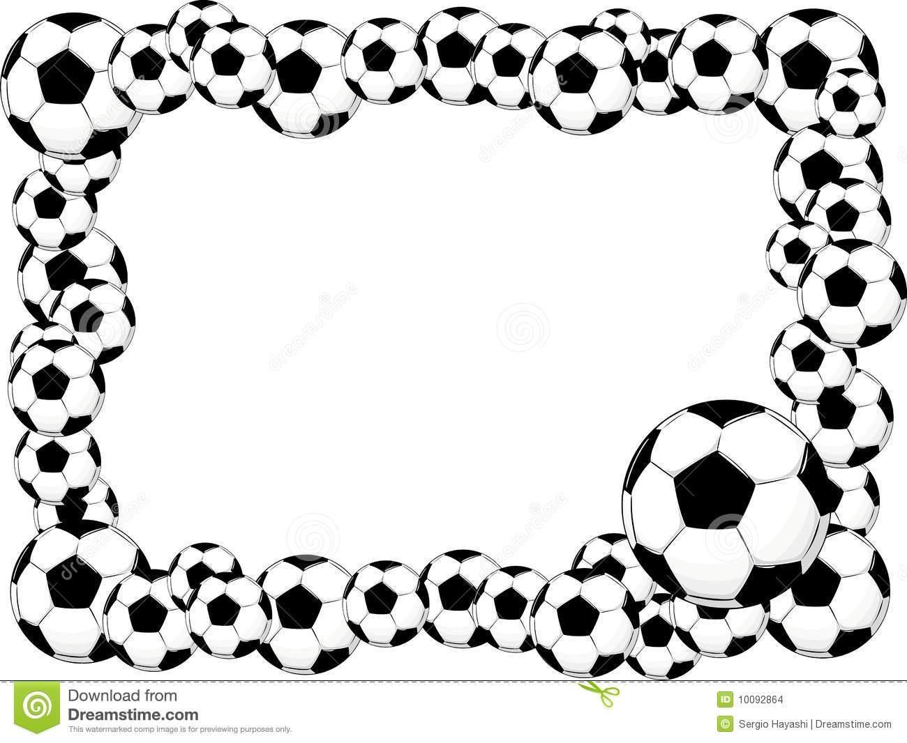 Soccer clipart border » Clipart Portal.