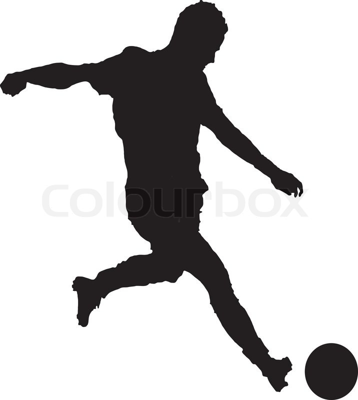 Soccer vector clipart 6 » Clipart Station.