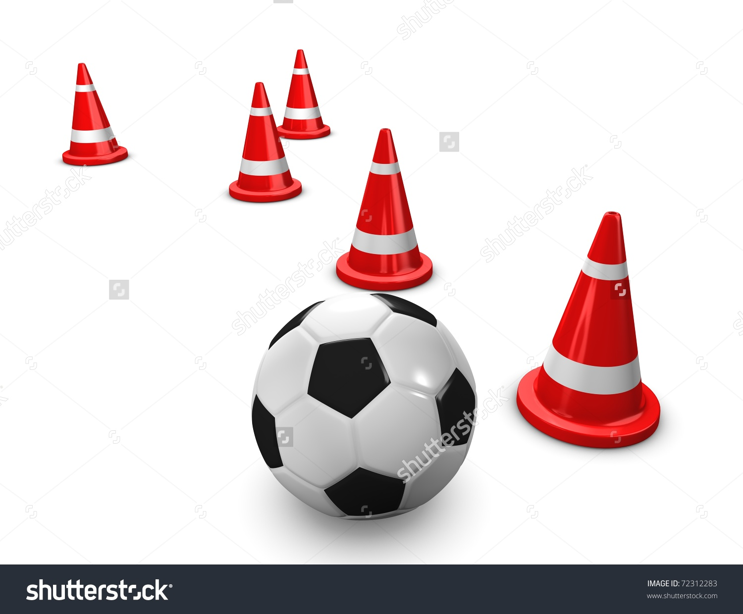Showing post & media for Cartoon soccer cones.