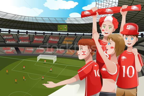 Download cartoon soccer fans clipart Football Clip art.