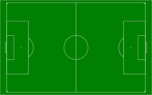 Soccer Field Football Pitch clip art Free vector in Open.