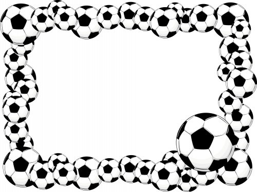 Soccer Stationary Clipart.