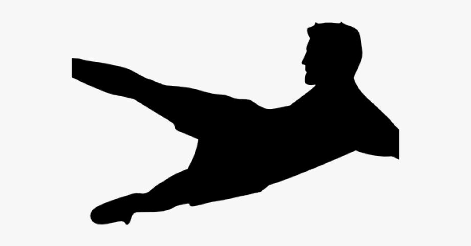 Kicking Soccer Ball Clip Art #1278046.