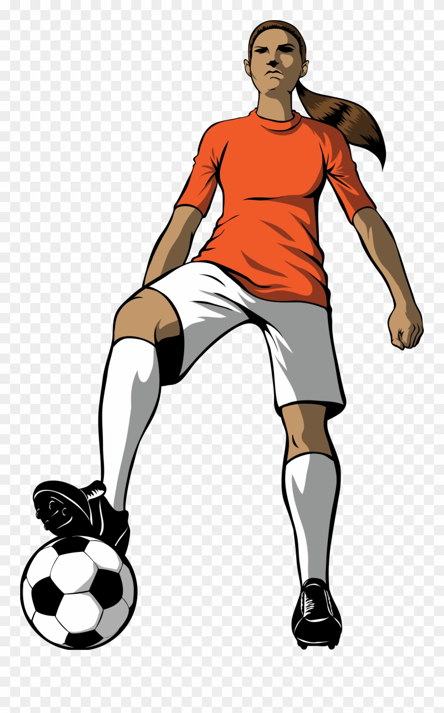 Free Girls Soccer Cliparts, Download Free Clip Art,.