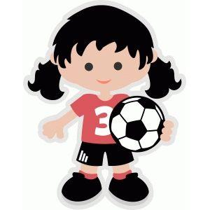 Soccer girl.