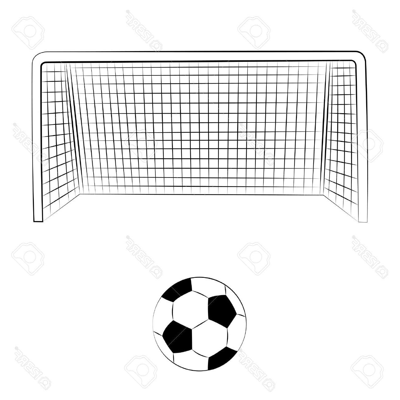 Best Soccer Goal Vector Side Pictures » Free Vector Art.