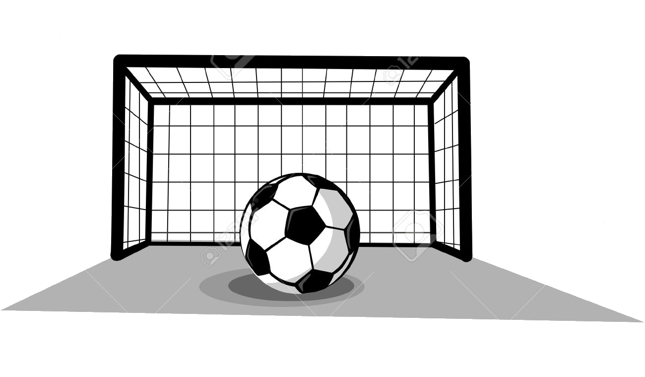 Soccer Goal Ball Clipart Free And Images Transparent Png.
