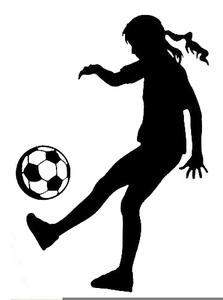 Female Soccer Goalie Clipart.