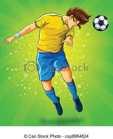 Soccer Header Clipart.