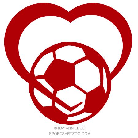 Soccer Love Design.