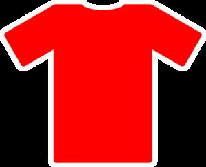 Red Soccer Jersey Clip Art at Clker.com.