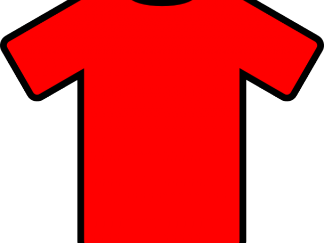 HD Red Soccer Jersey Clipart , Free Unlimited Download.