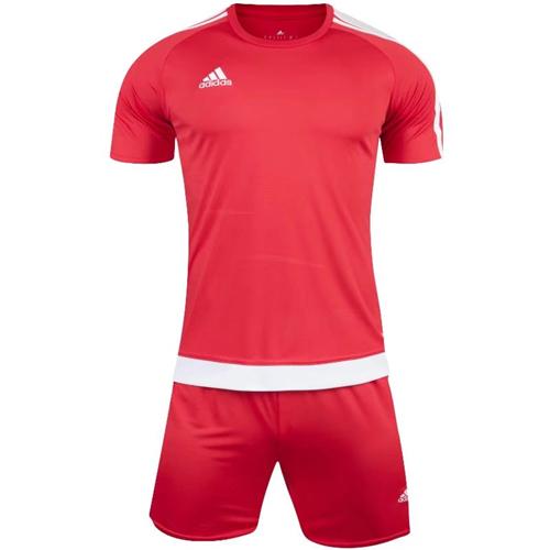 1602 Customize Team Red Soccer Jersey Kit(Shirt+Short).