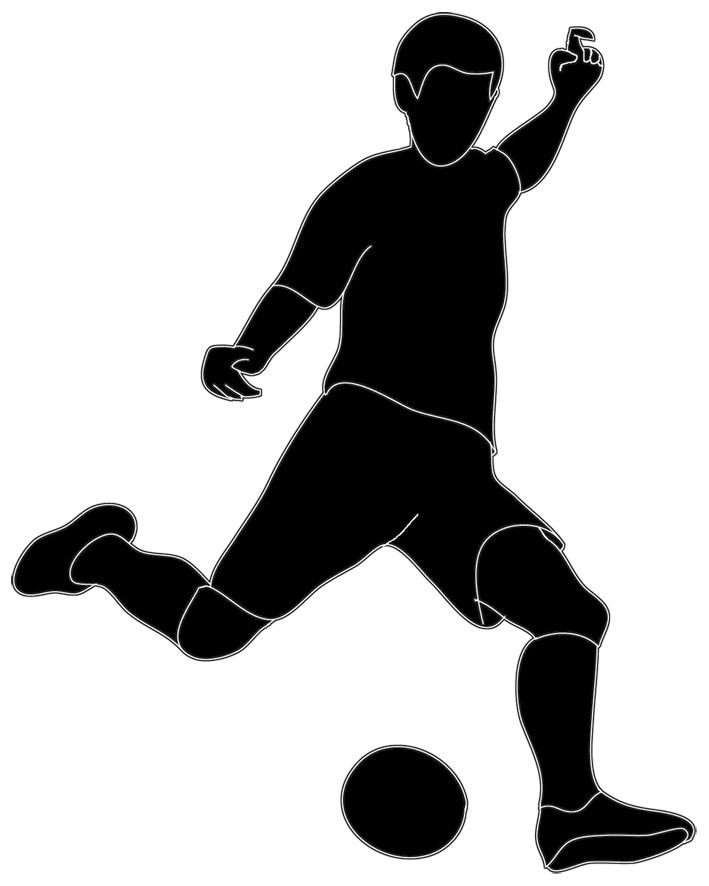 61+ Soccer Player Clipart.