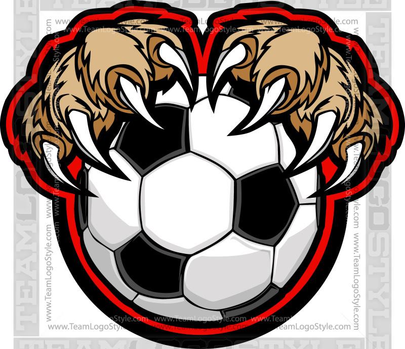 Cougar Soccer Logo.
