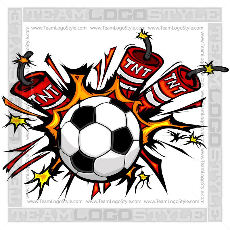 Dynamite Soccer Logo.