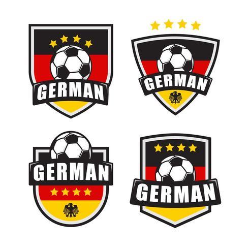 German Soccer Logo Patch.