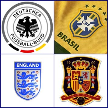 Soccer National Teams Logo Quiz.