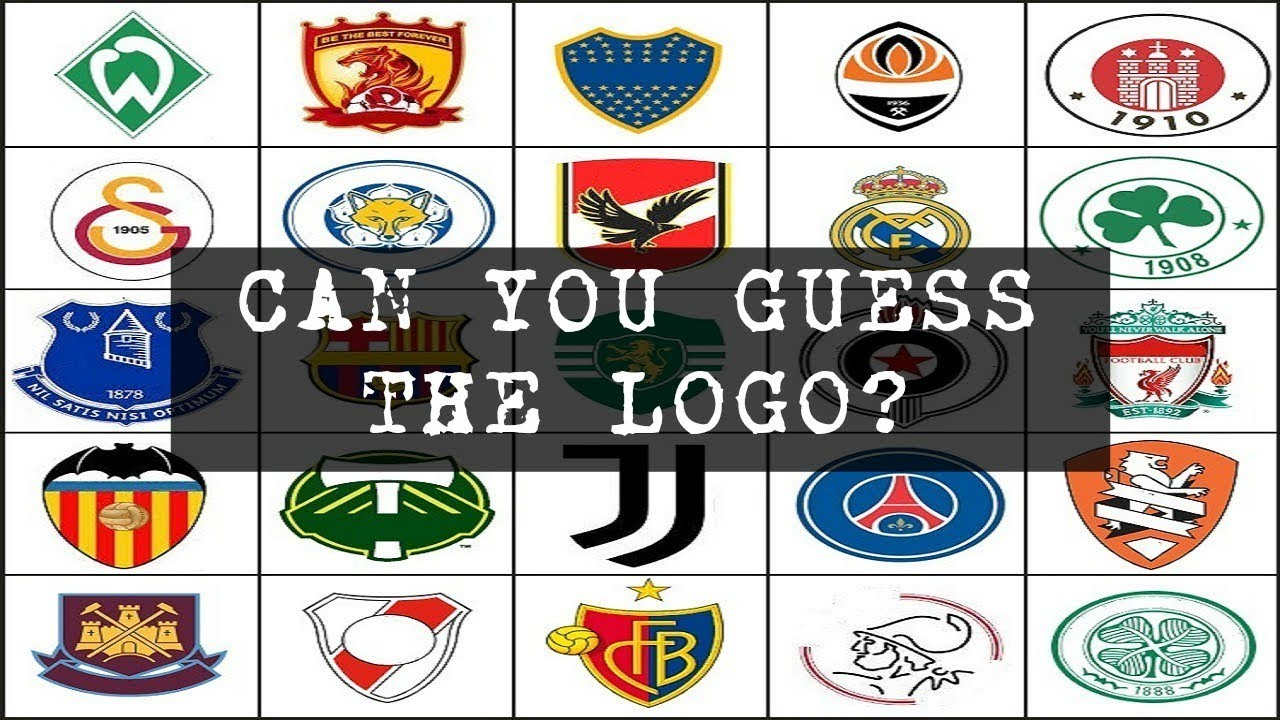 Can I GUESS these SOCCER LOGOS? (QUIZ).