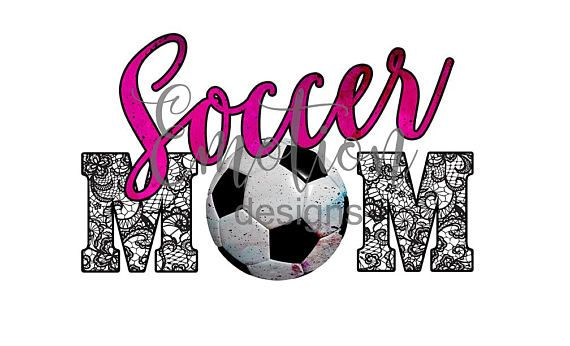Soccer Mom Clipart, instant download, sublimation.
