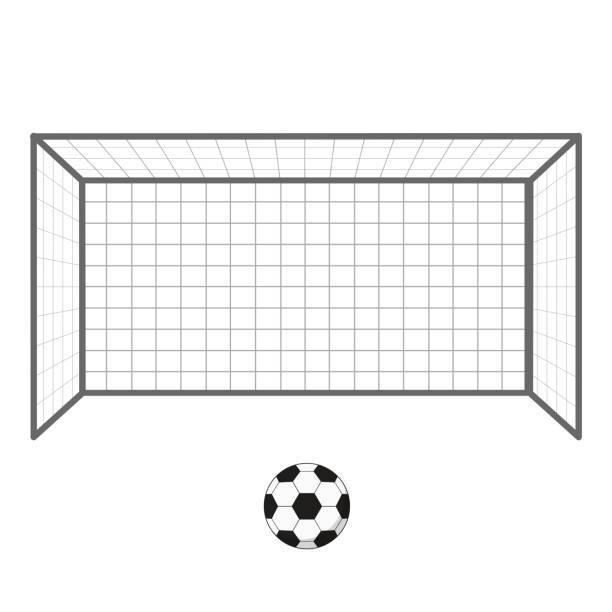 Soccer goal post clipart » Clipart Portal.