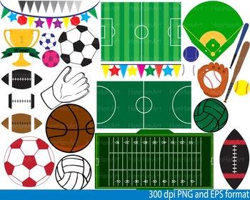 Sports fields.